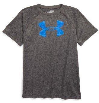 Boy's Under Armour 'Big Logo' T-Shirt $19.99 thestylecure.com