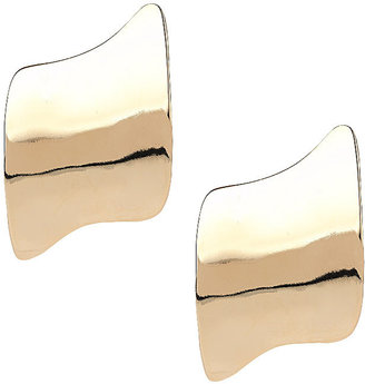 Topshop Curved abstract shape earrings