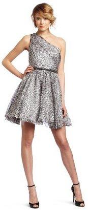 ABS by Allen Schwartz Women's One Shoulder Party Dress