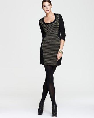 French Connection Dress - Lara Lurex Sweater