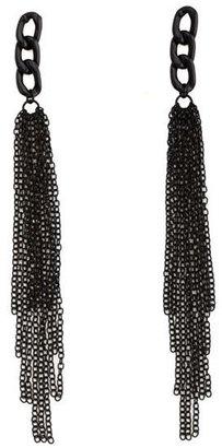 Charlotte Russe Chain Link Dangle Earrings