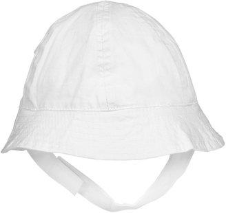 Egg by Susan Lazar Cotton Shirting Sun Hat