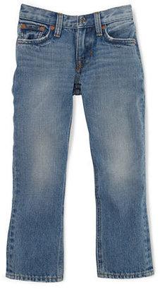 Ralph Lauren Boys 2-7 Slim-Fit Bridge Wash Jeans