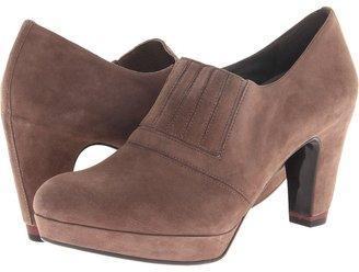 Oh! Shoes Reina (Black Kid Suede) - Footwear