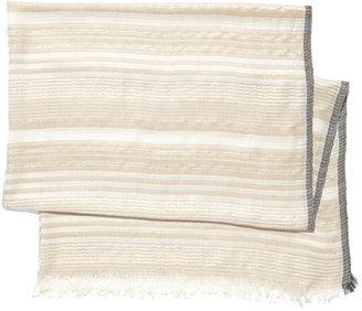 Vince Camuto Subtle Stripe Scarf