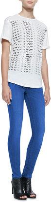 Current/Elliott The High-Waist Skinny Jeans, National