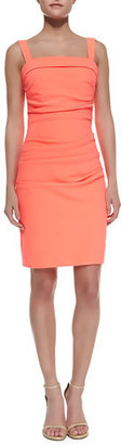Shoshanna Sheath Dress with Shoulder Straps