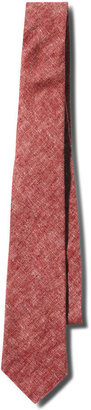 Apolis Red Washed Linen Tie