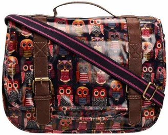 Swankyswans District29 Girl's Rue Owl Print Satchel Multi Color SS01082