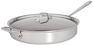 All-Clad Stainless Steel 6 Qt. Sauté Pan With Lid