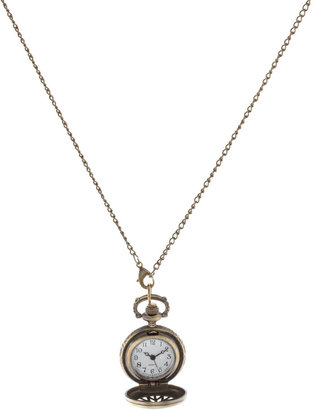 Asos Chunky Pocket Watch Necklace