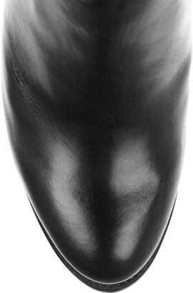 McQ by Alexander McQueen Chain-trimmed leather ankle boots