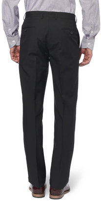 Paul Smith Black Byard Slim-Fit Wool and Mohair-Blend Travel Suit