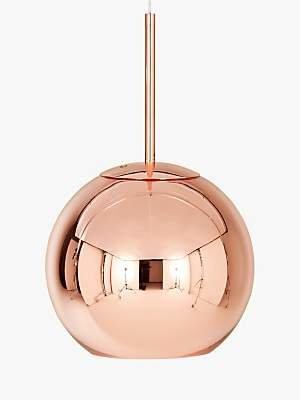 Tom Dixon Copper Round Ceiling Light, Dia.25cm