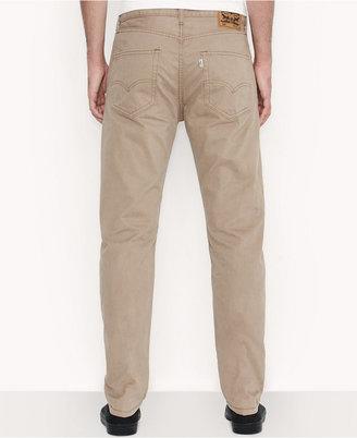 Levi's Men's 508 Regular Taper Fit British Khaki Jeans