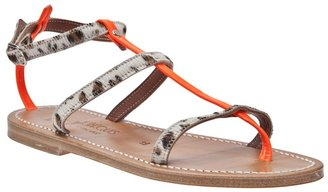 K. Jacques 'Gina' ankle strap sandal