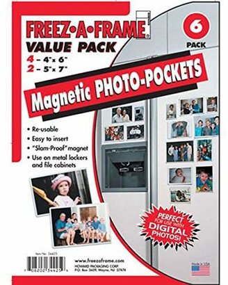 clear Magnetic Photo Frame Pockets