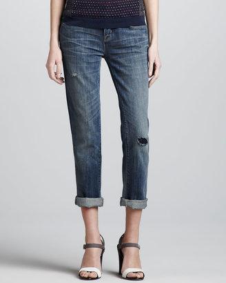 Marc by Marc Jacobs Jessie Cropped Boyfriend Jeans