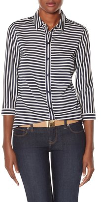 The Limited Striped Work Blouse
