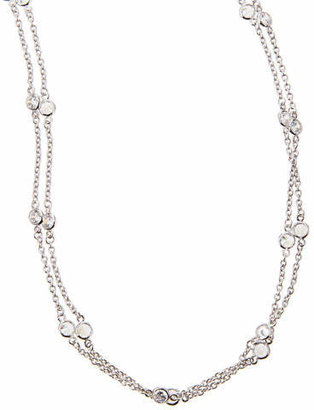 "FANTASIA Cubic Zirconia By-the-Yard Necklace, 72""L"
