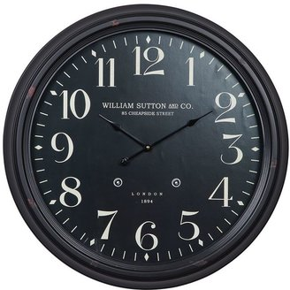 Norton Co. wall clock