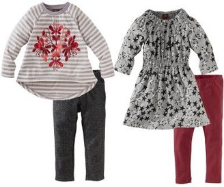 Tea Collection Baby-Girls Infant Stars And Stripes Four Piece Set