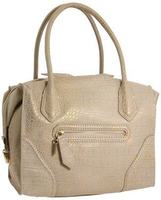 Foley + Corinna Mid Boxy Bag (Goldwash Croc Combo) - Bags and Luggage