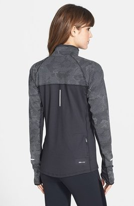 Nike 'Element' Dri-FIT Reflective Half Zip Top