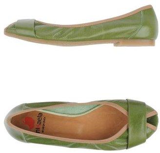 PeepToe MIKAELA Peep-toe ballet flats