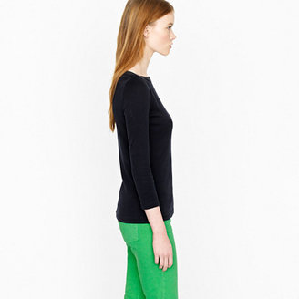 J.Crew Perfect-fit tape boatneck tee