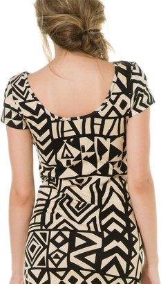Swell Geo Mini Printed Dress