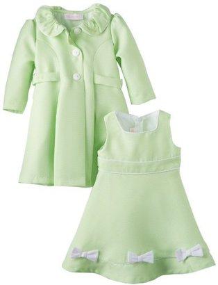Bonnie Baby Baby-Girls Infant Coat Set