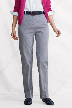 Lands' End Women's Regular Fit 3 Bedford 7-Day Pants