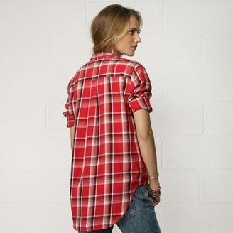 Denim & Supply Ralph Lauren Plaid Big-Pocket Shirt