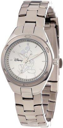 EWatchFactory Disney Women's W000487 Mickey Mouse Stainless Steel Bracelet Watch