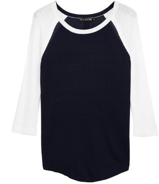 Rag and Bone Lexie Colorblocked Raglan Pullover