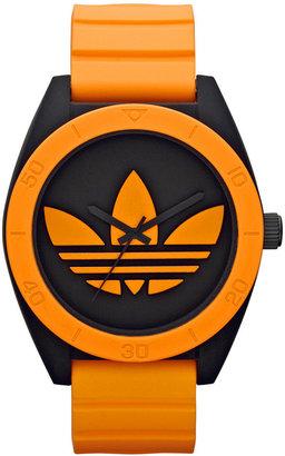 adidas Watch, Unisex Orange Silicone Strap 50mm ADH2845