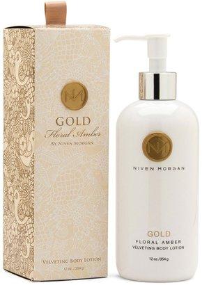 Niven Morgan Gold Body Lotion, 12 oz.