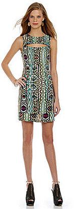 Marc New York Tribal-Print Dress