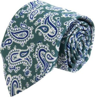 Barneys New York Medium Paisley Print Tie