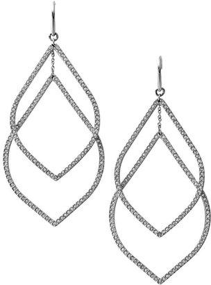 Fossil Glitz Linear Earrings