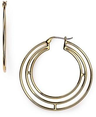 Elizabeth and James Mondrian Hoop Earrings