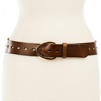 Linea Pelle Perry Versatile Hip Belt with Oblong Buckle