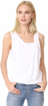 Three Dots Gathered Sleeveless Top $92 thestylecure.com