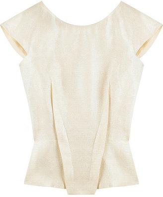 Roland Mouret Elara silk-blend top