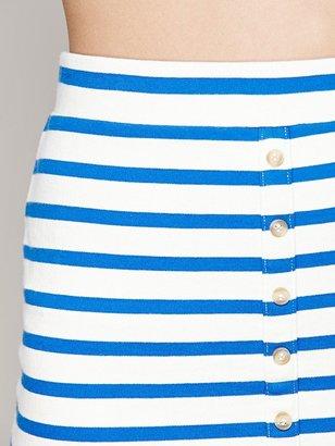 Free People Easedrop Stripe Skirt