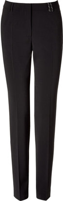 Paul Smith Black Straight Pants