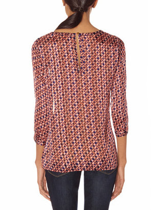 The Limited Printed Layering Blouse
