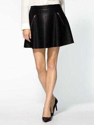 Free People Vegan Leather Skirt