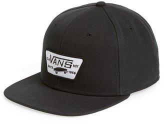Vans 'Full Patch' Snapback Hat